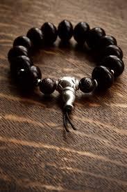 metal beads bracelet images Black mens bracelet silver guru bead pillow book design jpg