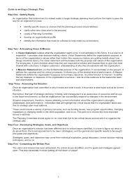 strategy document template eliolera com