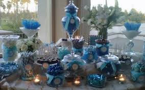 buffet table displays reception table table displays