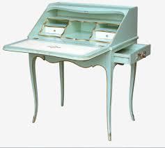 Secretary Style Computer Desk by Louis Xv Style Secretary Desk Wooden 551 Moissonnier