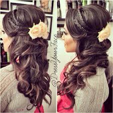 Abschluss Frisuren Lange Haare Locken by Wedding Hair Wunderschöne Brautfrisur Mit Locken Und Im