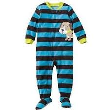 boys fleece pajamas ebay