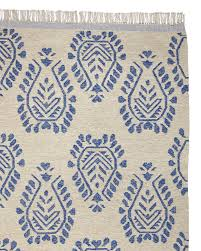ava dhurrie rug serenaandlily french blue juice or yellow