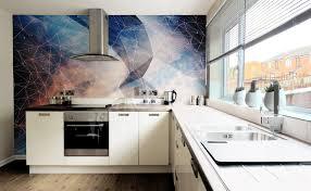 modele papier peint cuisine modele papier peint couloir avec tendance papier peint couloir idees