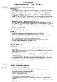 resume templates administrative coordinator ii salary finder for jobs grant coordinator resume sles velvet jobs