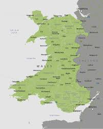 England Counties Map by Political Map Of Wales Royalty Free Editable Vector Map Maproom