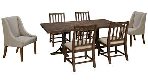 Dining Room Outlet by Magnolia Home Magnolia Home Magnolia Home 7 Piece Iron Trestle