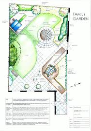 square garden plan the oval shaped lawn helps make the garden