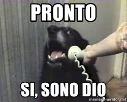 Meme Generator Dog - pronto si sono dio hello yes this is dog meme generator