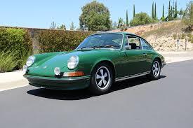 porsche 911 dark green 1973 porsche 911 s coupe cpr classic