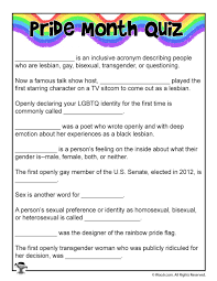 Childrens Halloween Poem Lgbt Trailblazers A Pride Month Curriculum For Kids Woo Jr
