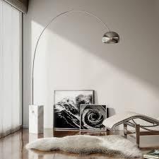 Arco Floor L Flos Arco L Icona Per Eccellenza Di Flos La Base In Marmo