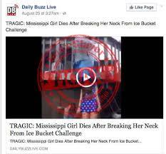 Challenge Dies Challenge Hoaxes