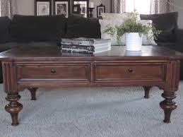 turned leg coffee table traditional turned leg coffee table entri ways
