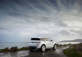 land rover white 2016 image land rover 2016 range rover evoque white nature sky cars back