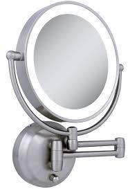 Dual Illuminated Vanity Mirrors Modern Design Wall Mounted Makeup Mirror With Lights Sensational