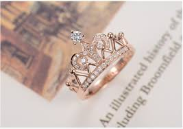 silver pretty rings images Pretty micro crystal party anniversary ring for girl sterling 925 jpg