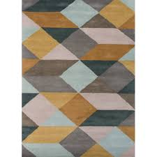 Brown And Gray Area Rug Lst16 En Casa By Luli Sanchez Tufted Stylish Hand Tufted Area