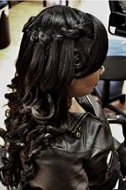 Half Up Half Down Hairstyles Black Hair 50 Superb Black Wedding Hairstyles