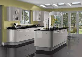 black gloss kitchen tiles home decorating interior design bath