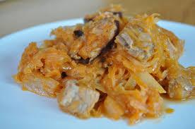 cuisine polonaise bigos choucroute polonaise cuisine avec du chocolat ou
