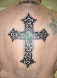 celtic cross tattoos high quality photos and flash designs of