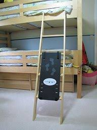 Best Bunk Beds And Daybeds Images On Pinterest  Beds Full - Ladders for bunk beds