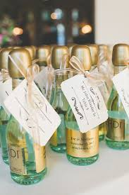 wine bottle favors wedding favors party favors ideas mini chagne bottles