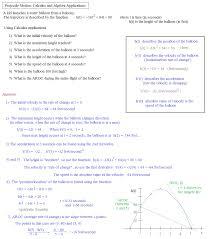 math plane applications of derivatives