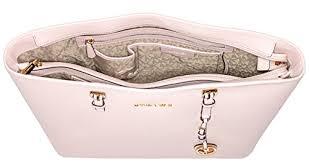 light pink michael kors handbag michael kors womens jet set travel top zip tote 30t5g light pink