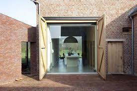 house lens rabbit hole brick house by lens ass architecten yellowtrace