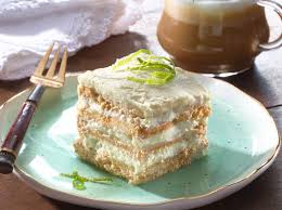 mexican lime maria icebox cake