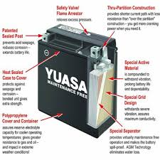 ytx16bs battery yuasa motocross 12 volt motorcycle batteries