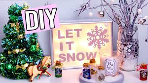 Make Your Own Christmas Light Decorations by Diy Winter Christmas Decorations Light Up Sign Edible Tree