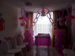 decoraciones con globos para baby shower y fiestas infantiles