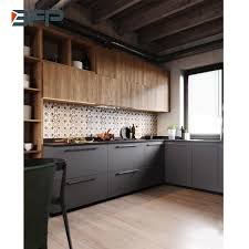 mixing kitchen cabinet wood colors china wood grain hpl finish high end popular color mix