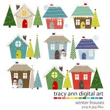 christmas houses christmas house decorations clip happy holidays
