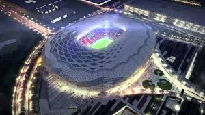 neo futuristic architecture qatar world cup 2022 stadium