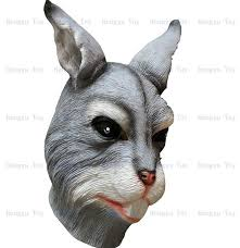 bunny mask rabbit costume size party bunny mask in