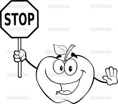 clip art stop sign coloring page mycoloring free printable