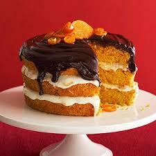 orange carrot cake with chocolate ganache recipe gardens