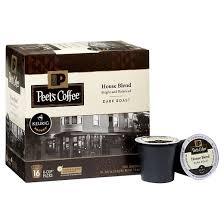 peet s coffee house blend roast coffee keurig k cup pods
