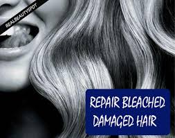 rescue bleached hair natural treatments to repair bleached damaged hair theindianspot com