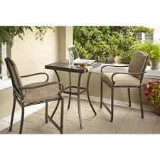Bistro Set Bar Height Outdoor by Bistro Sets Patio Dining Furniture Outdoors High Table Set Outdoor