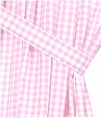 Pink Gingham Curtains Pink Gingham Check Window Curtains