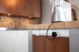 kitchen island power mainline power sockets installed into kitchen island kitchen