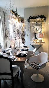Silver New Years Eve Decorations by Simple Home Dining Room Decor Feats Harmonious Silver Candle