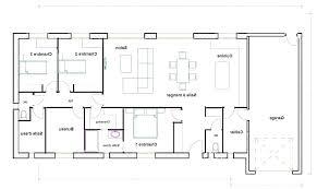 plan de maison 4 chambres gratuit architectures plan maison chambres plan de la maison