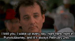 Bill Murray Groundhog Day Meme - groundhog day quotes funny gifs