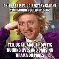 Sex Fail Meme - oh the e r p fail directory caught you having public rp sex